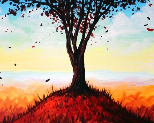A Im Not Invincible paint nite project by Yaymaker