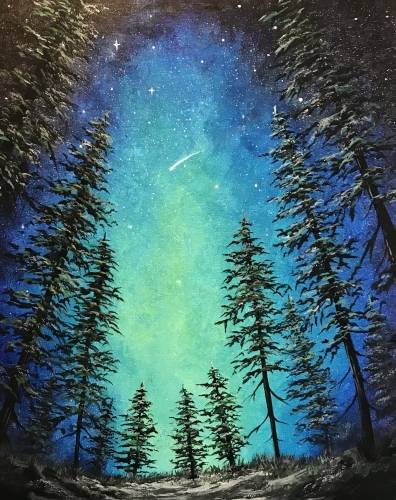 A Beyond Us paint nite project by Yaymaker