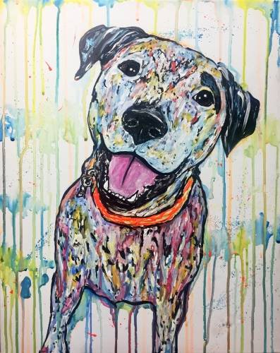 A Paint Your Pet  Custom Splash III paint nite project by Yaymaker
