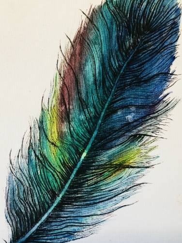 A Featherish paint nite project by Yaymaker