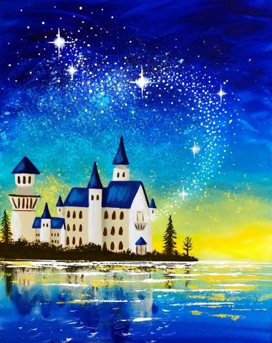 A Castle Magic paint nite project by Yaymaker