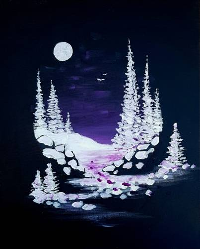 A Its Snow Secret paint nite project by Yaymaker