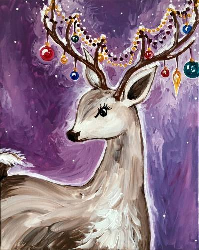 A The Dearest Holiday paint nite project by Yaymaker