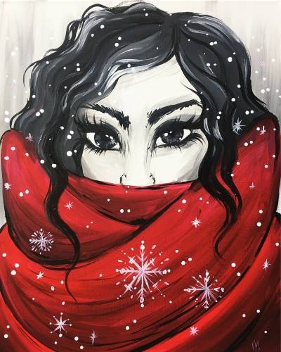 A Staying Warm this Winter paint nite project by Yaymaker