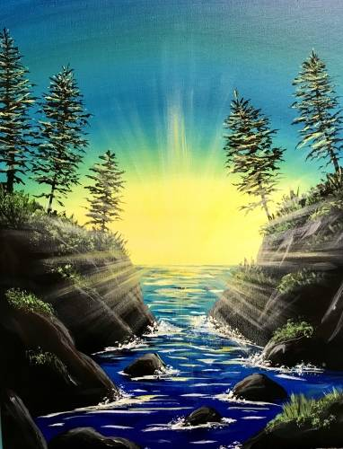 A Rivers End paint nite project by Yaymaker