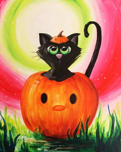 A Hallo Kitty paint nite project by Yaymaker
