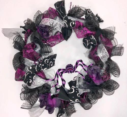 A Halloween Wreath II wreaths project by Yaymaker
