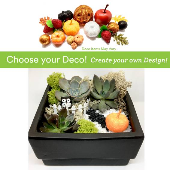 A Choose your Deco  Autumn Harvest Owl Ceramic plant nite project by Yaymaker