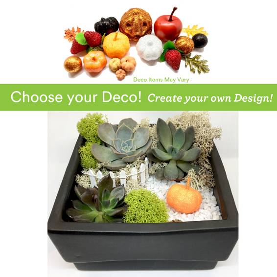A Choose your Deco  Autumn Harvest Ceramic plant nite project by Yaymaker
