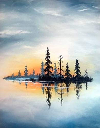 A Crisp Lake paint nite project by Yaymaker