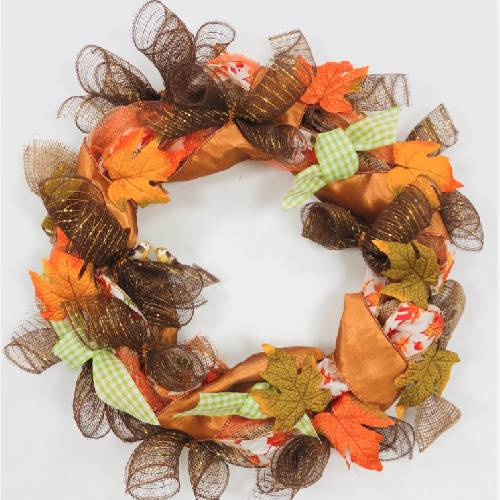 A Autumn Wreath II wreaths project by Yaymaker
