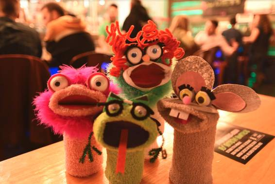 A Sock Puppets sock puppets project by Yaymaker