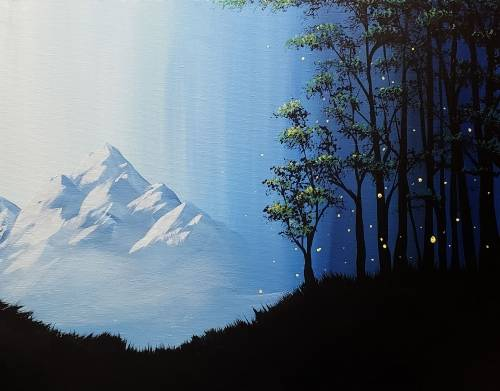 A Forests Edge paint nite project by Yaymaker