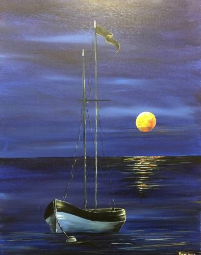 A Anchored paint nite project by Yaymaker