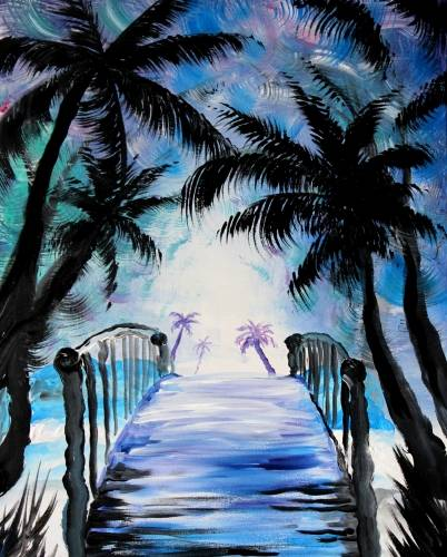 A Bridging the Gap paint nite project by Yaymaker