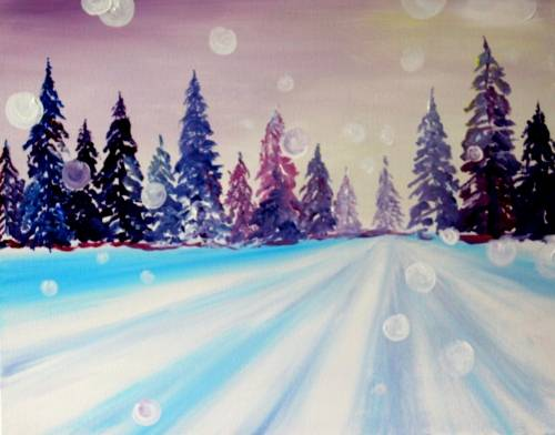 A A New Year Begins paint nite project by Yaymaker