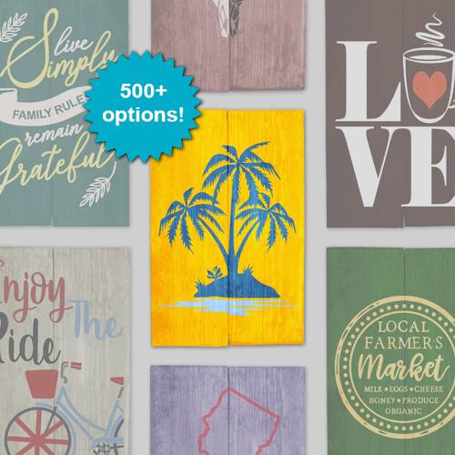 A Design a Sign Vacay Vibes design a sign project by Yaymaker