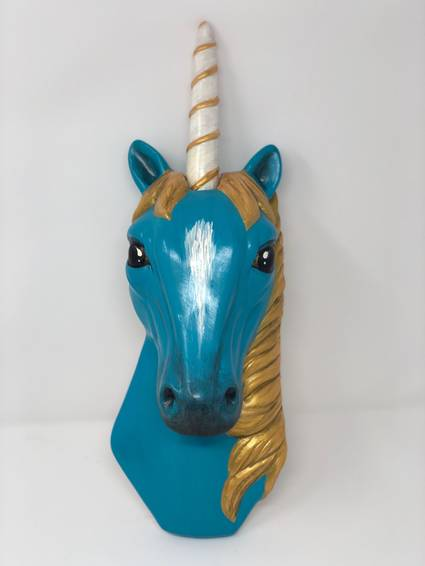A Ceramic Unicorn ceramic painting project by Yaymaker