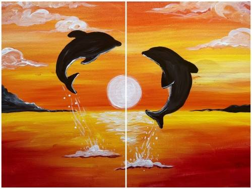 A Heart of The Sea Partner Painting paint nite project by Yaymaker
