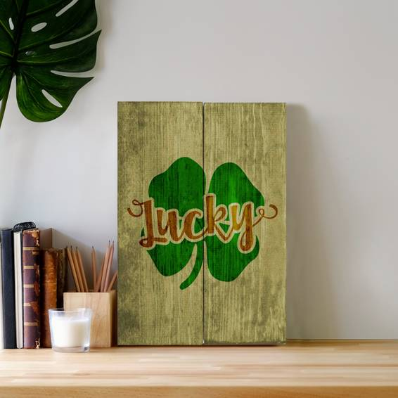 A NEW DIY Stencil Wood Signs  St Paddys Design a Sign design a sign project by Yaymaker