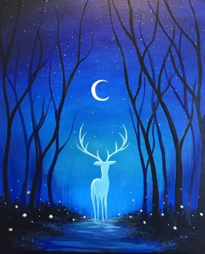 A The Prince of Midnight paint nite project by Yaymaker