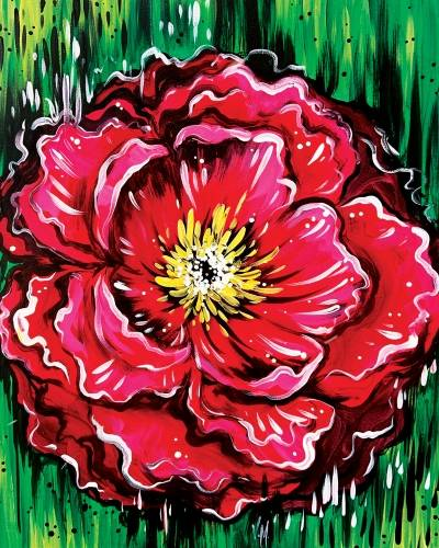 A Vermilion Flower paint nite project by Yaymaker