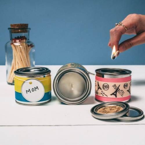 A Scents in a Spice Tin candle maker project by Yaymaker
