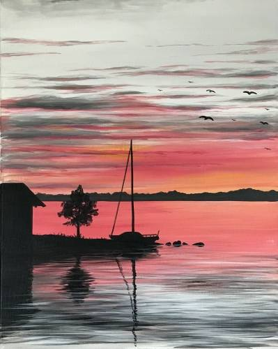 A Late Evening Moorage paint nite project by Yaymaker