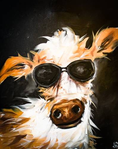 A Freddy MerCowRy paint nite project by Yaymaker