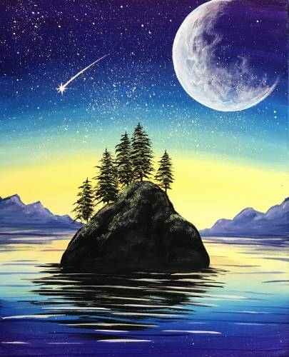 A Starlight Island paint nite project by Yaymaker