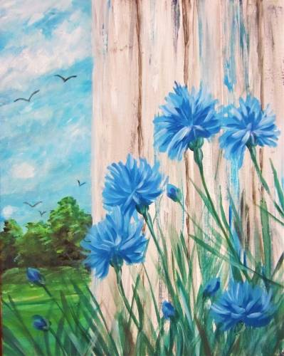 A A Bevy of Bachelors paint nite project by Yaymaker