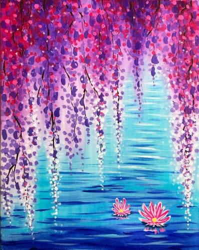 A Wisteria Cove paint nite project by Yaymaker