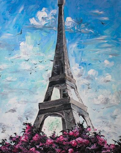 A The Mighty Tower paint nite project by Yaymaker