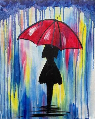A Raining Color paint nite project by Yaymaker