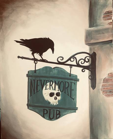A Destination Nevermore paint nite project by Yaymaker