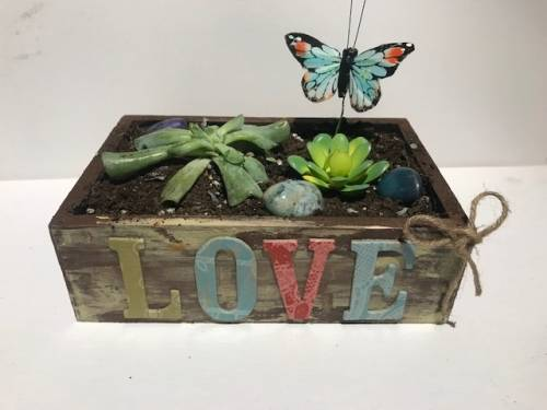 A Customize Your Wooden Box plant nite project by Yaymaker