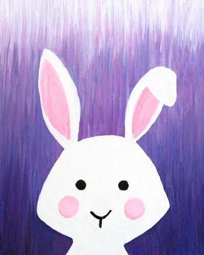 A Lavender the Bunny paint nite project by Yaymaker