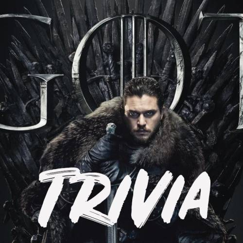 A Game of Thrones Themed Trivia themed trivia project by Yaymaker