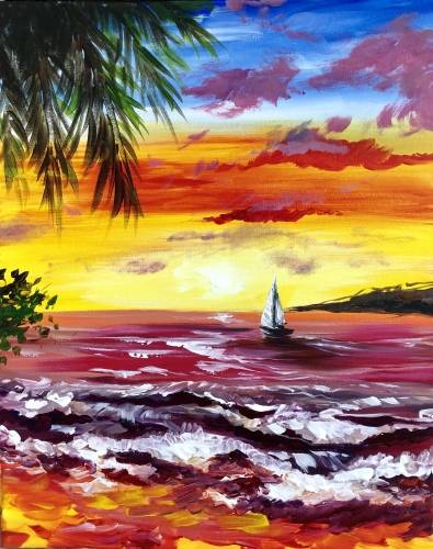 A Sail On Sailor paint nite project by Yaymaker