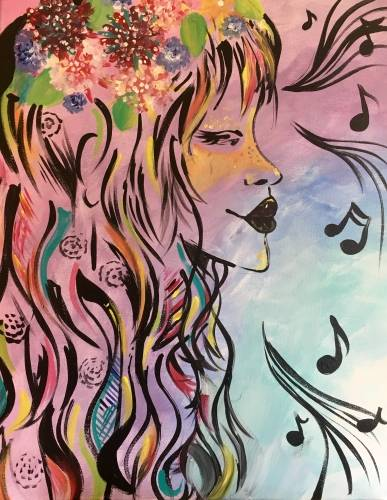 A Love paint nite project by Yaymaker