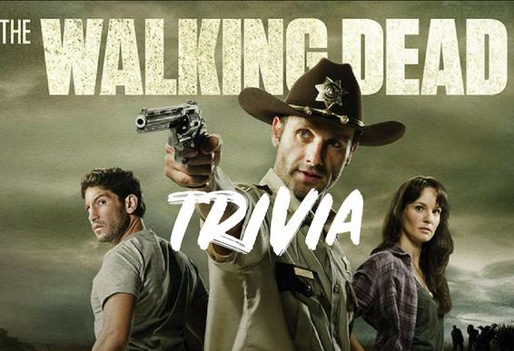 A WALKING DEAD Themed Trivia themed trivia project by Yaymaker