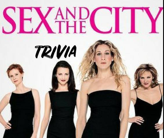 A SEX AND THE CITY Themed Trivia themed trivia project by Yaymaker
