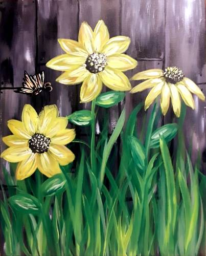 A You are my Sunshine II paint nite project by Yaymaker