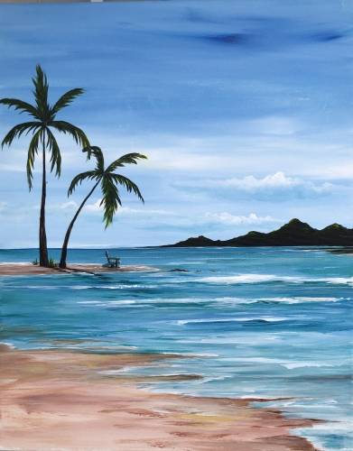 A Where I Can Be Found paint nite project by Yaymaker