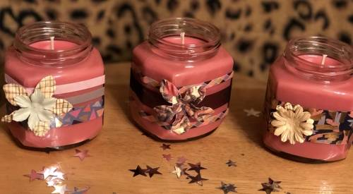 A Pick Your Fragrance Jar Candles II candle maker project by Yaymaker
