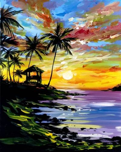 A Take Me There paint nite project by Yaymaker
