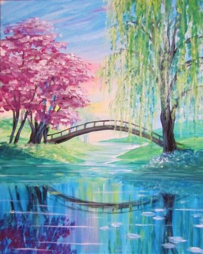 A Bridging the Seasons IV paint nite project by Yaymaker