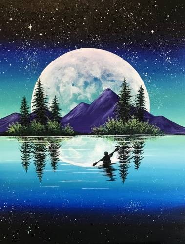 A Moonshine Mountains paint nite project by Yaymaker