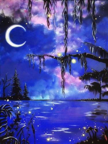 A Enchanted Willow paint nite project by Yaymaker