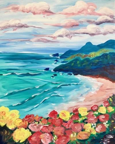 A Sea of Abundance paint nite project by Yaymaker